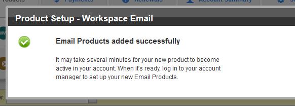 设置Email Forwarding邮局账户