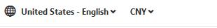 Godaddy确定语言和币种
